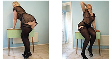 english-milf-daniella-revealing-her-butt-through-her-fishnet-dress